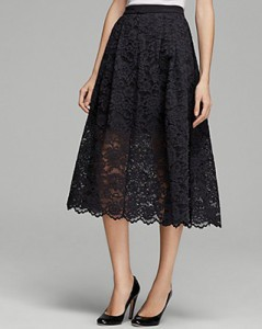 Tibi Lace Skirt, $495USD.