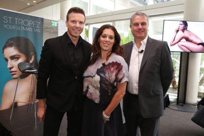 ] Guest speakers Michael Brown, Jacqueline Burchell and Dr Paul Evans